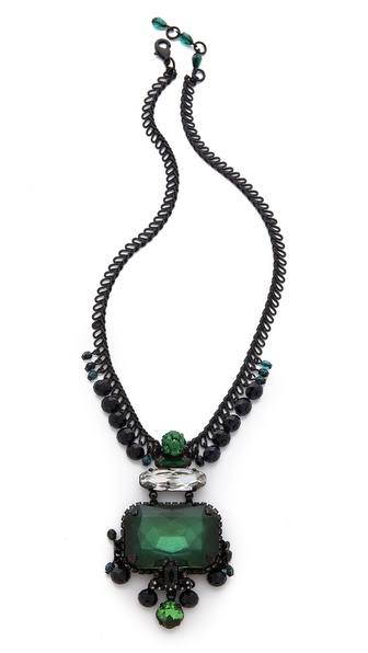 Erickson Beamon Envy Drop Necklace