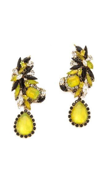 Erickson Beamon Queen Bee Earrings