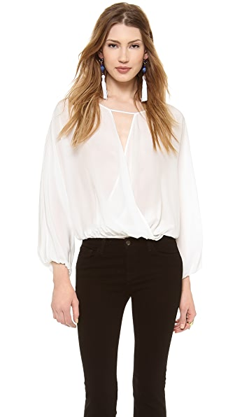 Emerson Thorpe Reese Silk Dolman Top