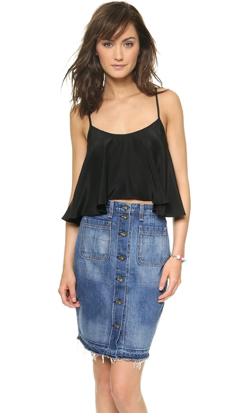 Emerson Thorpe Kaia Cropped Cami Top