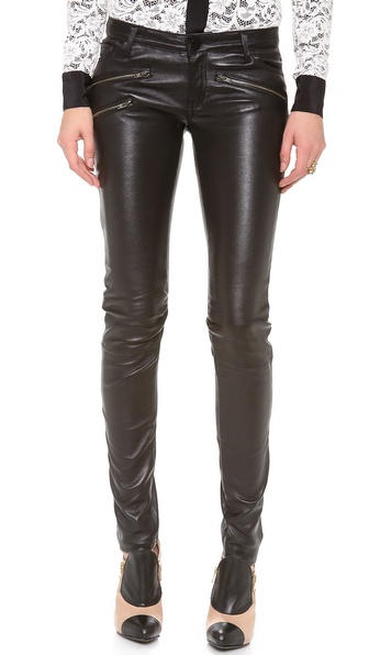 Etienne Marcel Skinny Leather Pants