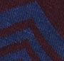 Bordeaux/Vintage Blue Heather
