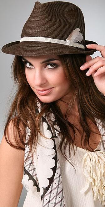 Eugenia Kim Max Feather Fedora