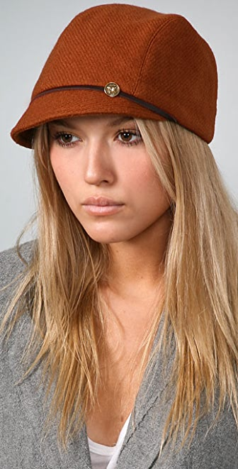 Eugenia Kim Muffy Cap with Horse Button