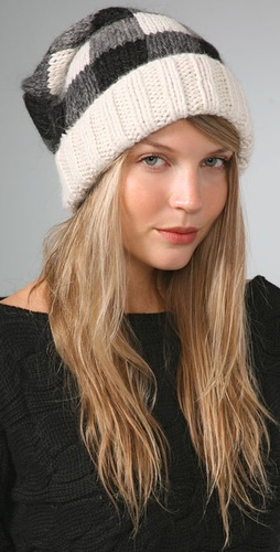 Eugenia Kim Montana Buffalo Check Slouchy Cap