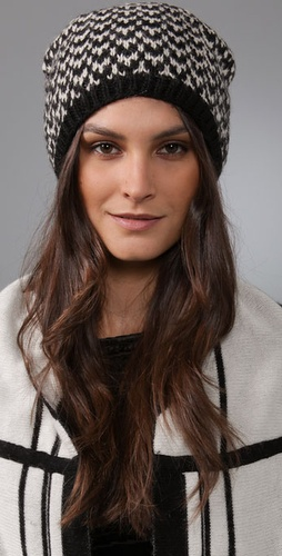 Shop Eugenia Kim Shelby Herringbone Beret and Eugenia Kim online - Accessories,Womens,Cold_Weather,Hats, online Store