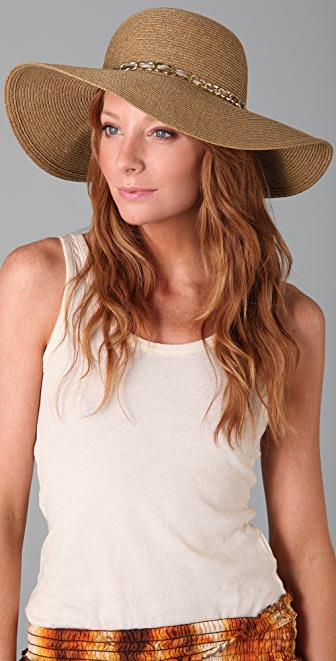 Eugenia Kim Honey Sunhat with Chain