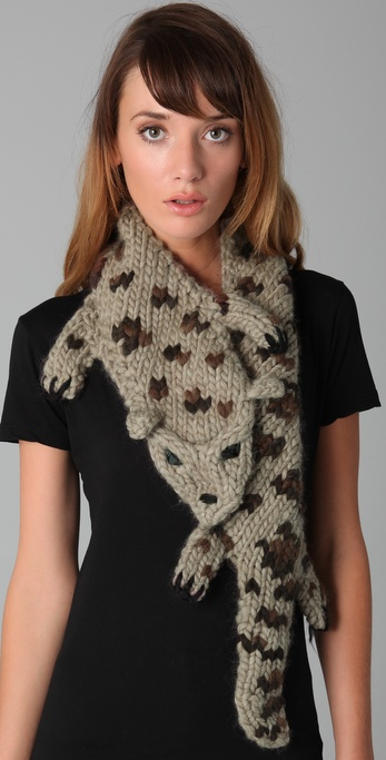 Eugenia Kim Kitty Leopard Scarf