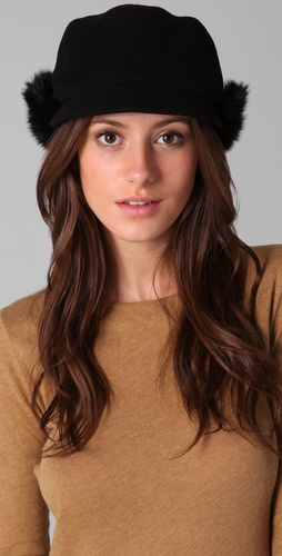 Eugenia Kim Annie Cashmere Equestiran Cap