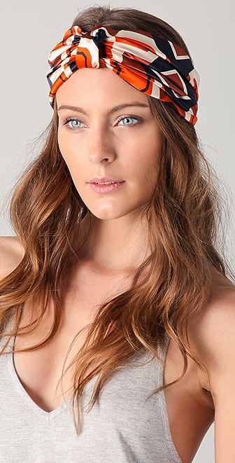 Eugenia Kim Natalia Print Turban Headband