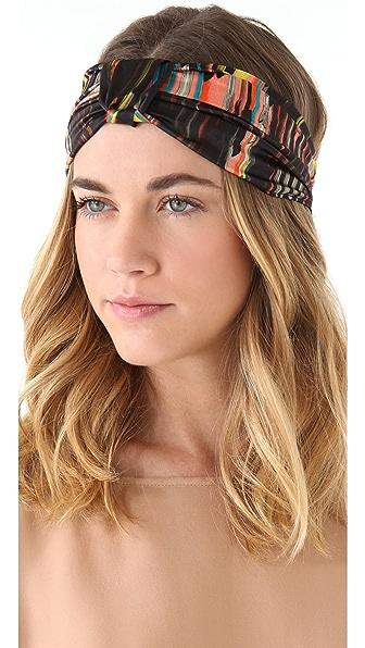 Eugenia Kim Natalia Silk Turban Knot Headband
