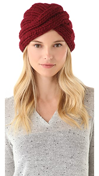 Eugenia Kim Dominique Wool Turban Hat