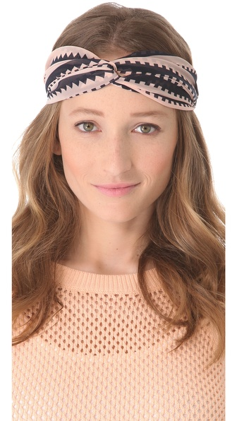 Eugenia Kim Genie by Eugenia Kim Penny Geometric Turban Headband