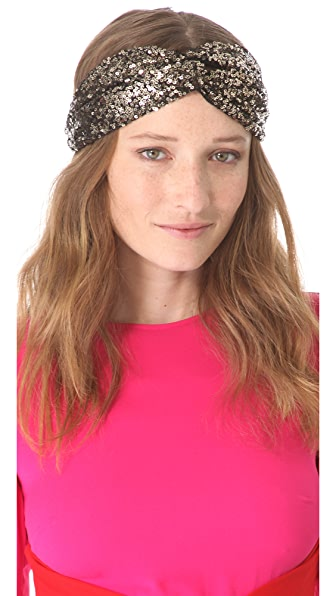 Eugenia Kim Genie by Eugenia Kim Penny Sequin Turban Headband