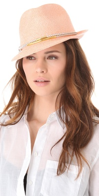 Eugenia Kim Craig Toyo Trilby Hat
