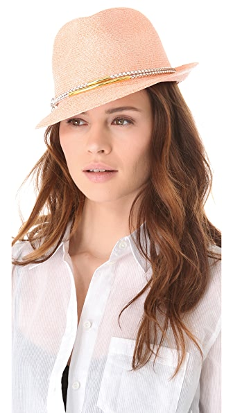 Eugenia Kim Craig Toyo Trilby Hat