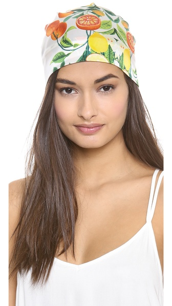 Eugenia Kim Gigi Citrus Headscarf