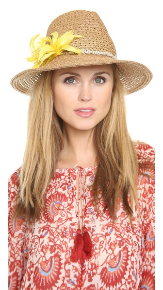Eugenia Kim Gabriella Hat - Camel/Yellow at Shopbop / East Dane