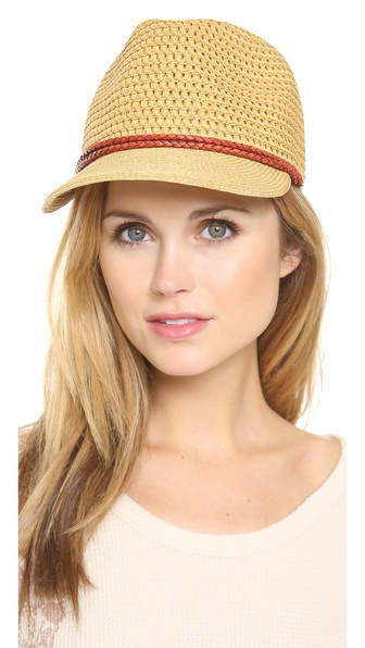 Eugenia Kim Liesl Toyo Hat - Antique Natural/Rust at Shopbop / East Dane