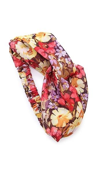 Eugenia Kim Genie Floral Print Turban Headband