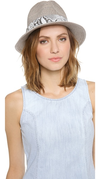Eugenia Kim Lillian Hat - Grey/Silver at Shopbop / East Dane