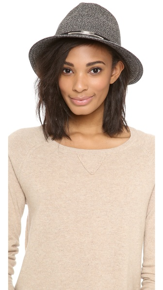 Eugenia Kim Lillian Hat - Black/Silver at Shopbop / East Dane