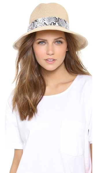 Eugenia Kim Gabriella Hat - Natural/Grey/Silver at Shopbop / East Dane