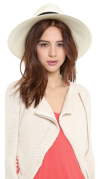 Eugenia Kim Emmanuelle Hat - Ivory/Black at Shopbop / East Dane