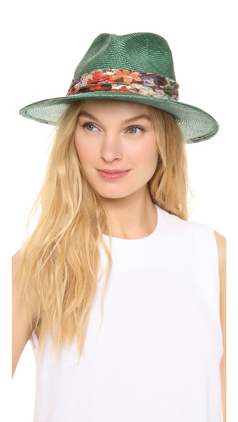 Eugenia Kim Bianca Hat - Teal at Shopbop / East Dane