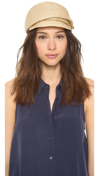 Eugenia Kim Gary Hat - Natural/Gold at Shopbop / East Dane