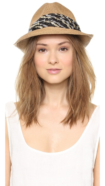 Eugenia Kim Max Hat - Camel at Shopbop / East Dane