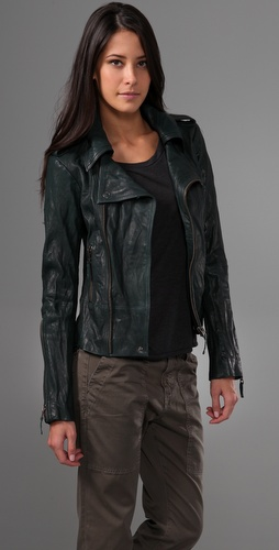 Ever Langdale Leather Motorcycle Jacket