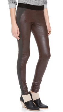 EVLEO Coated Leggings