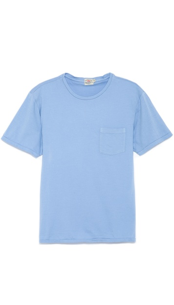 Faherty Pocket Crew T-Shirt