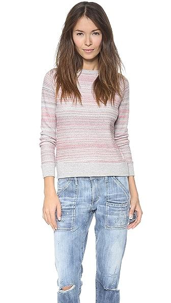Faherty Wavy Ballet Sweatshirt