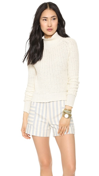Faherty Cascadia Rib Knit Sweater