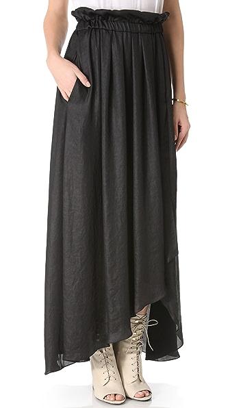 Faith Connexion Fluid Skirt with Straps