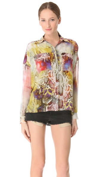 Faith Connexion Python Print Shirt