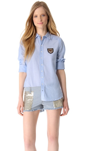 Faith Connexion Chambray Shirt