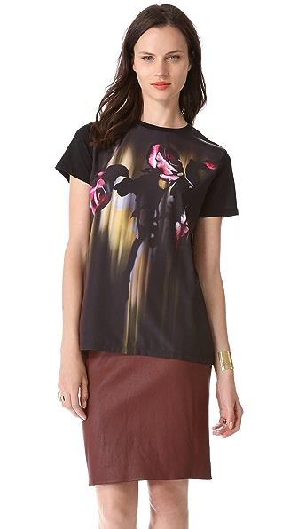 Faith Connexion Rose Print T-Shirt