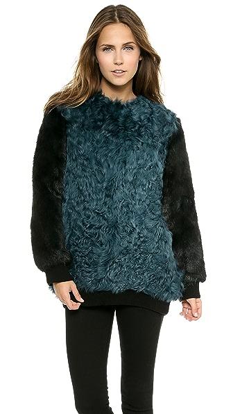 Faith Connexion Kalgan Fur Jacket