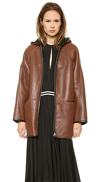 Faith Connexion Reversible Leather Coat