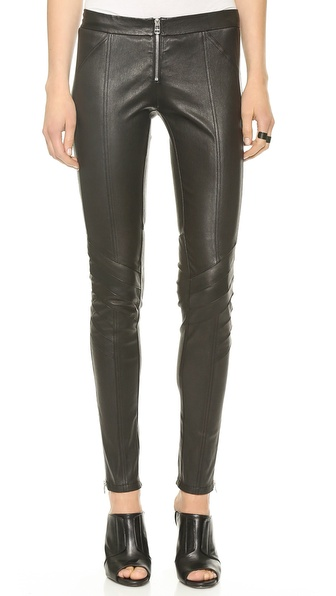 Faith Connexion Stretch Leather Pants
