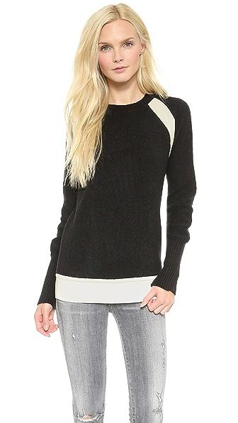 Faith Connexion Mixed Knit Sweater