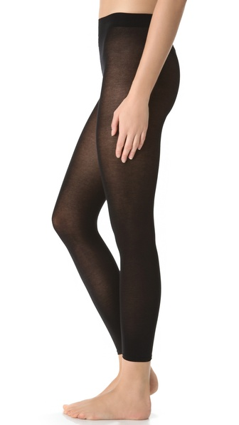 Falke Cotton Touch Footless Tights