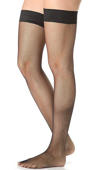 Falke Net Thigh High Tights
