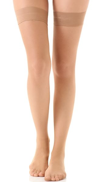 Falke Net Thigh High Tights