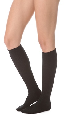 Falke Striggings Cable Knit Knee High Socks