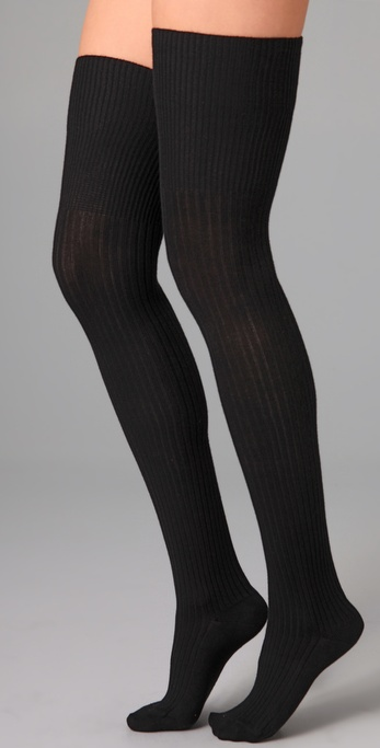Falke Striggings Ribbed Over the Knee Socks