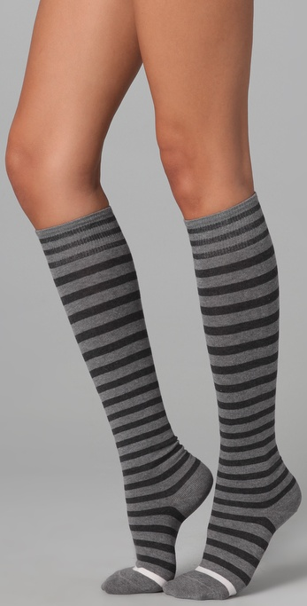 Falke Stripes Knee High Socks
